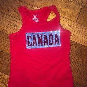 Girls 4T Canada tank